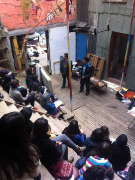 Taller Permacultura - Valparaíso - Patio Volantín